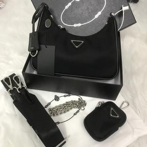 2020 Omuz Çantaları Yüksek Kalite Naylon Çanta Bestselling Cüzdan Kadın Lüks Marka Crossbody Çanta Hobo Çantalar Triad Çanta Baget Paketi