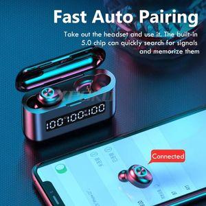 2020 TWS Wireless Bluetooth Headphones LED Display Digital Sem Fio Bluetooth Headphones TWS Bluetooth 5.0 para Earbuds Sem Fios Airpods