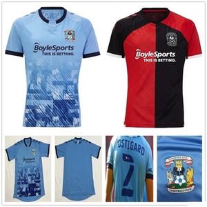 2020 New Coventry City Soccer Jerseys Biamou Bakayoko Godden Jobello Shipley Kelly Jones Allen Sheaf Custom 20 21 Home Blue Football Shirt