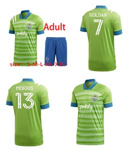 MLS 2020 New Seattle Vocalistas Casa / Away Jerseys Adulto Dempsey Rodero Rudiaz Soccer Kids 'Wear
