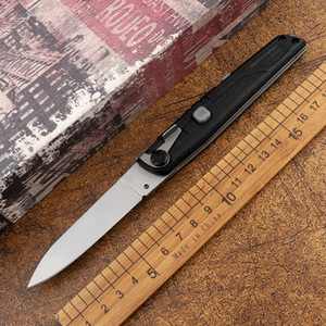 New Italian Mafia 440C Blade Nylon Fiberglass Handle Camping Hunting Defense EDC Tool Kitchen Fruit Automatic Tactical Folding Knife