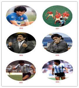 Maradona Коллекционные инновационные холодильники Магнит Клей Кристаллические Магниты Спортивные ACCS Для Футбольных Фанатов Диего Марадона Аргентина
