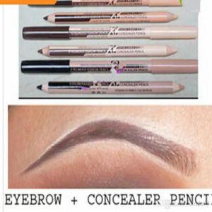 Eyebrow Enhancers Maquiagem Eye Brow Menow Makeup Double Function Pencils & Concealer Maquillaje 1