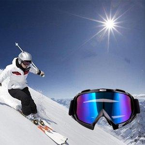 Goggles UV400 Anti-fog Big Glasses Eyewear Snowmobile Winter Men Women Snow Snowboard Goggles