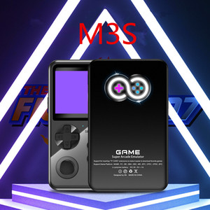 M3S Mini Handheld Game Players 10 Games Simulators Contain Retro 1000+ Classic Games 16 Bit Video Game Console Support TF Card for Kids Gift