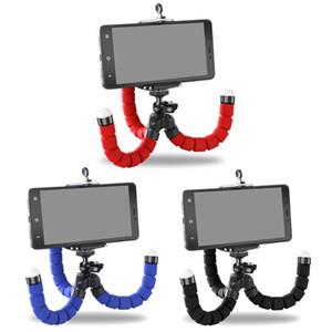 Phone Holder Flexible Octopus Bracket Tripod Selfie Mount Monopod Styling Accessories For Mobile Phone Camera