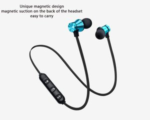 magnetic Wireless Bluetooth ear bud sport Stereo Microphone Earphone Compatible with iOS Android