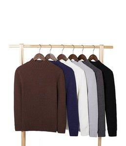 Fjun hiver chaleureux pull en cachemire Hommes Turtleneck Hommes Pulls Slim Fit Pullover Men Classic Laine Tricoterie Tireuse 2021 Nouveau