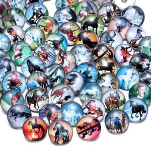 Jolies bijoux pas cher pour collier de bouton-pression 18mm gingembre verre strass en gros bijoux accessoires de bricolage pour charms en cuir 78 l2