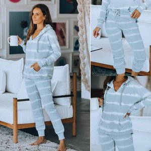 Loose Tracksuits Loungewear Women Casual Two Piece Set Autumn Street T-Shirt Tops and Jogger Home Suit 2Pcs Outfits1