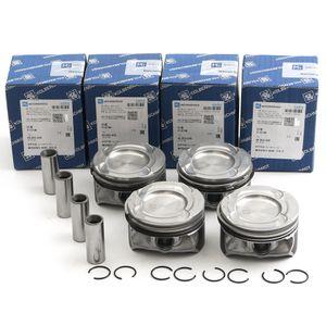 Free Shipping 4-pack Pistons Rings Set STD KS For Mercedes-Benz M274.910 1.6T C180 CGI E180 SLC180