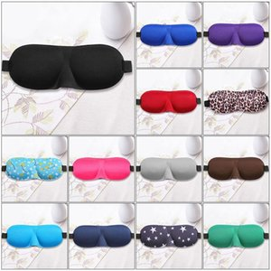 1Pcs 3D Sleep Mask Natural Sleeping Eye Mask Eyeshade Cover Shade Eye Patch Women Men Soft Portable Blindfold Travel Eyepatch Martin799