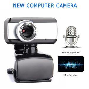 HD Webcam 480P Portable Web Cam Built-in Microphone For Skype Desktop Computer USB Plug Play Laptop for Windows 7 8 Me   2000