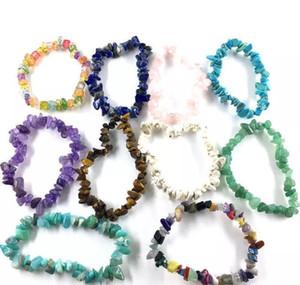 2019 Popular Wind Multicolor Natural Stone Handmade Bracelet Summer Female Bracelet Mu wmtRoK dayupshop