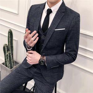 2020 men's suits men's wedding dresses slim suits business professional Korean