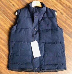 Men Sleeveless Down Jacket Coat Winter Vest Zipper Casual Winter Jacket Men Women Coat Fashion Jacket Vest Tops S-2XL