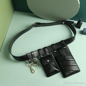 New belt women bag fashion handbag designer ladies shoulder bag youth clamshell sweet wind leather ladies messenger bag gift 1076