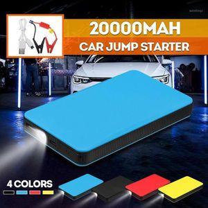 휴대용 미니 슬림 20000mAh 자동차 점프 스타터 전원 은행 12V 엔진 배터리 충전기 자동차 배터리 시동기 Charger1