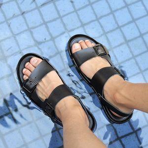 walking dress masculina plage shoe de unisex sandalia on homme men piel hombre sandal mens masculino footwear gladiator sandles1
