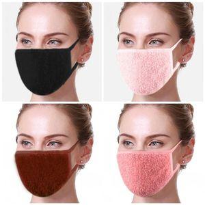 2021 nouveau designer adulte coton masque de flanelle hiver chaud motard chaleur motard motocycliste masque de ski cachets réutilisables lavable HWC3861