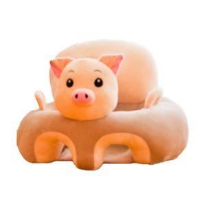 Cartoon Animal Baby Seat Sofa Infants Learning Sitting Chair Comfort Plush Support Pillow Cushion Newborn Gifts J1204