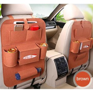 Car Seat Back Storage Bag Multi Pocket Hanging Organizer Car Seat Back Bags Storage Accessories