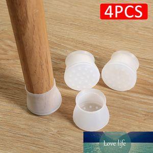4Pcs set Chair Leg Protector Wear Pad Anti-noise Chair Foot Cover Silicone Chair Leg Protector Caps Mute Feet Pads Anti-slip