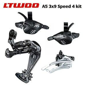 LTWOO blueprint A5 transmission 4 small sets of mountain bike finger dial bicycle front dial 9 speed rear dial 3x9S 27 speed