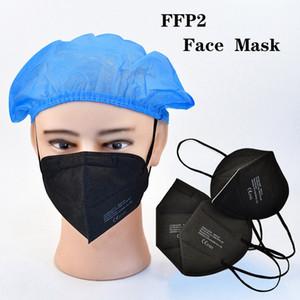 Masque FFP2 Masque CE 2163 Certificat Masque de protection 5-Couche Masque anti-dépoutchon anti-dépoutchon DHL Livraison gratuite