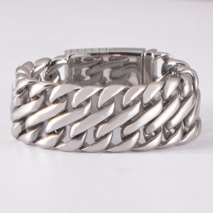 Brand new top quality men's linked8 shape stainless steel bracelets fashion jewelry factory stainless steel jewelry supplier HN001