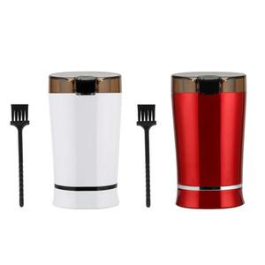 Elektrikli Kahve Öğütücü Mini Mutfak Tuz Biber Öğütücü Güçlü Fasulye Baharat Somun Tohum Kahve Çekirdeği Öğütücü Değirmen Otlar Somun Taş