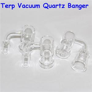 Quartz Terp Slurper Quartz Banger Nail With Carb Cap Female Male 10mm 14mm 18mm Joint terp vacuum Quartz Bangers Nails For Glass bongs