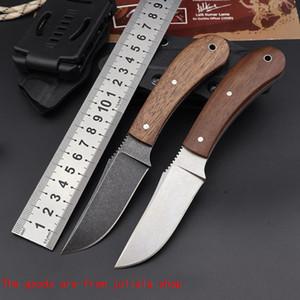 Нож 80CRV2 Army Army New Steel Union Mini Winkler Фиксированный лезвие На открытом воздухе Охотничьи Нож для выживания Выживание Прямые Тактические Джинды Ножи Qynf PQCDJ