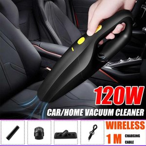 120W 6800Pa Powerful Wireless Car Vacuum Cleaner Portable Handheld USB Cordless Wet&Dry Use Rechargeable Home Car Vacuum Cleaner