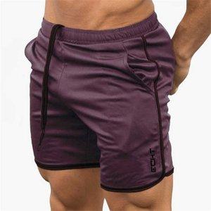 2019 Mens Summer Fitness Factury Compresión Secado rápido Gimnasios Bodybuilding Joggers Shorts Slim Fit Ropa Sweat