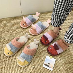 Hot Sale- Low Flat Shoes Female Slippers Casual Platform Slipers Women Fur Flip Flops Slides Flock Multicolored Sandals