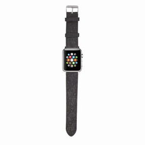 Luxury fashion show design D brand leather metal plastic band for Apple watch straps 38 40mm and 42 44mm