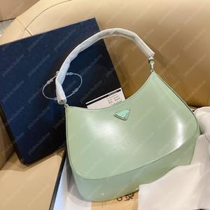 Omuz Çantaları Çanta Luxurys Tasarımcılar Çanta Crossbody Çanta Sırt Çantası Kılıf Cleo Fırçalanmış Deri Omuz Çantası Tasarımcılar Çantalar Ücretsiz 20112001L