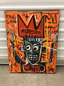 Jean Michel Basquiat Canvas Painting Home Decoration Oil Painting On Canvas Wall Art Canvas Pictures For Wall Decor 201116
