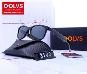 Стиль (5) Винтаж Новый дизайн Wray Солнцезащитные очки Мужчины Женщины Мода Бренд Очки ORP2132 HD Стеклянный объектив с Etch Box Бесплатная Доставка