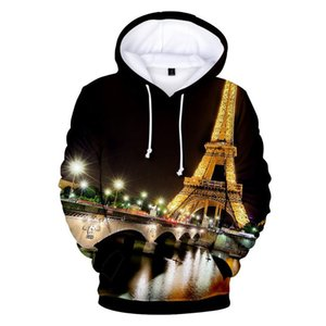 Classic France Paris Eiffel Tower 3D Hoodies Men Women Sweatshirts Famous La Tour Eiffel 6XL Hoodies Sweatshirt Pullover Jackets