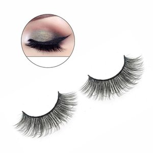 1 Pairs 3D Mink Eyelashes False Eye Lashes Beauty Natural Eyelash Dramatic Volume Fake Eyelashes Cruelty-free Makeup Extension