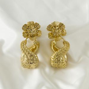 Sunnice designs longs beaux avec boucles d'oreilles pour femmes bijoux en or 2020 accessoires goutte cadeau de mariage Z1128