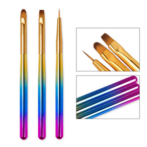 3pcs / Set Light Thérapy Stylo Set Couleur Peinture Crochet Pen