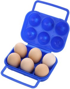 Portable Egg Storage Box With Locks Container 6 Egg Case 12 Egg Case for Picnic, Camping and Hiking