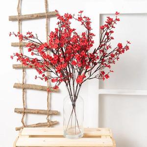 Gypsophila Artificial Flowers White Branch Quality Babies Breath Fake Flowers Plant Long Bouquet Home Wedding Decoration Autumn