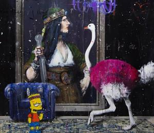 Angelo Accardi скучно Bart Home Decor Rapcarafts / HD Печать Маслом живописи на холсте Настенное искусство Фотографии 201224