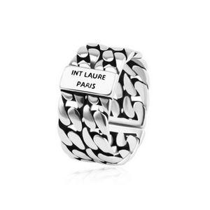 Новое поступление Винтажное письмо Открытое кольцо Женщины Письмоное кольцо с маркой Мода Ювелирные Изделия Аксессуары для подарочной вечеринки
