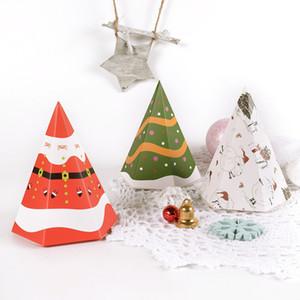 Christmas Gift Box hexagonal color folding candy box wholesale Christmas small gift candy box gift boxes