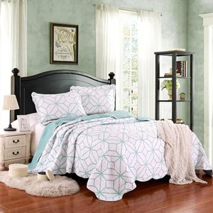 High quality Home textile Bedclothes Summer Cool Thin Air-conditioned Quilt Blankets With pillowcase Printed Quilts Comforters
